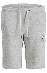 Jack & Jones Grey Shark Sweat Shorts