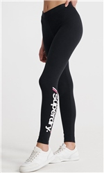Superdry Black Logo Leggings
