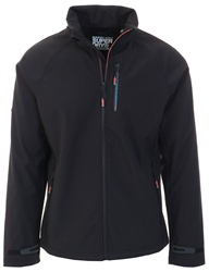 Superdry Black Stretch Softshell Jacket