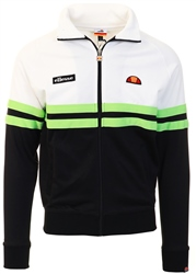 Ellesse White/Green/Black Rimini Track Top
