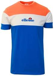 Ellesse Blue/White/Orange Ministry T-Shirt