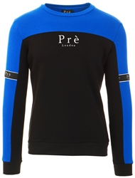 Pre London Black/Blue Eclipse Crew Sweat