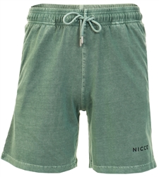 Nicce Green Cline Jog Shorts