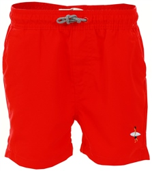 Threadbare Red Swim Shorts