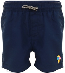 Threadbare Navy Swim Shorts