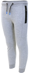 Threadbare Grey Marl Panel Cuffed Joggers