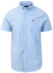 Brave Soul Blue Short Sleeve Shirt