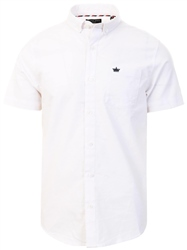 Brave Soul White Short Sleeve Shirt
