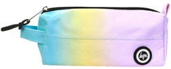 Hype Multi Rainbow Core Plain Pencil Case