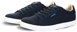 Jack & Jones Navy / Blue Canvas Trainer