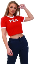 Fila Red Tionne Crop T-Shirt