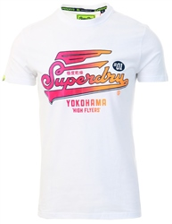 Superdry Optic White High Flyers Hyper Classics T-Shirt