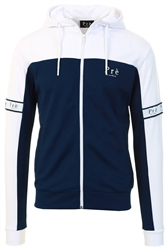 Pre London Navy/White Eclipse Full Zip Hoodie