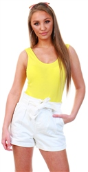 Veromoda Yellow / Aurora Sleeveless Body