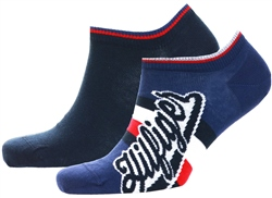 Tommy Jeans Navy Trainer Socks 2 Pack