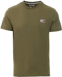 Tommy Jeans Olive Chest Logo Tee