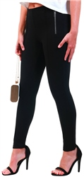 Veromoda Black / Black High Waisted Leggings