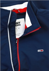 Tommy Jeans Iris Black/Navy Essential Flag Patch Bomber Jacket