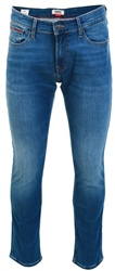 Clean Mid Blue Scanton Stretch Slim Fit Jeans by Tommy Jeans