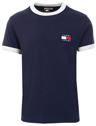 Tommy Jeans Twilight Navy Ringer T-Shirt