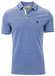 Selected Blue / Limoges Organic Cotton - Polo Shirt