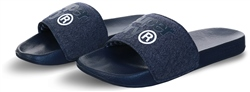 Superdry Navy / Navy Grit / Optic White Lineman Pool Sliders