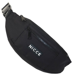 Nicce Black Mari Bum Bag
