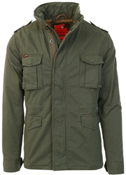 Army Green Classic Rookie Jacket by Superdry
