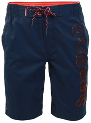 Superdry Darkest Navy Boardshorts