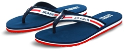 Tommy Jeans Twliight Navy Chunky Tape Detail Beach Sandals