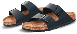 Birkenstock Black Arizona Oiled Leather Sandal