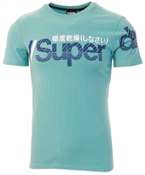 Superdry Fresh Mint Core Split Logo T-Shirt
