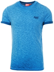 Superdry True Blue Organic Cotton Low Roller T-Shirt