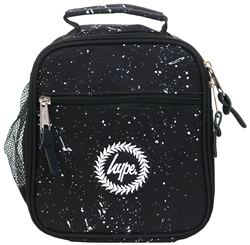 Hype Black Speckle Lunch Box Bag