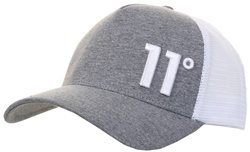 11degrees Charcoal Marl Trucker Cap