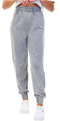 Goodfornothing Grey Acid Wash Jogger