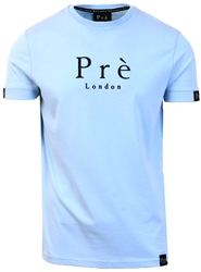 Pre London Baby Blue Mantilla Short Sleeve Tee