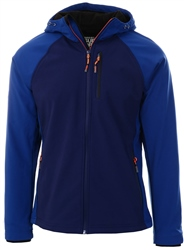Superdry Atlantic Navy Hooded Softshell Jacket