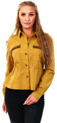 Only Yellow / Cumin Detailed Jacket