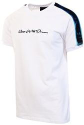 White / Cobalt Ralmor T-Shirt by Kings Will Dream