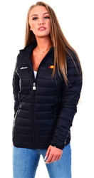 Ellesse Anthracite Black Lompard Padded Jacket