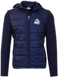 Kings Will Dream Navy Morston Hybrid Jacket