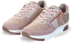 Xti Nude Zip Detail Trainers