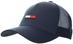 Tommy Jeans Twilght Navy Trucker Flag Cap