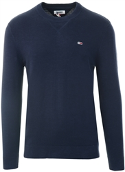 Twilght Navy Crew Knit Sweater by Tommy Jeans