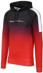 Black / Red Findon Script Hoodie by Kings Will Dream