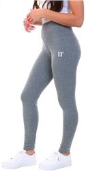 11degrees Mid Grey Logo Leggings