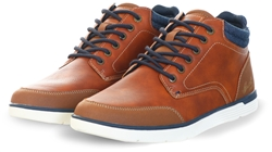 Bull Boxer Brown Mid Lace Up Boot