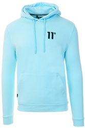 11degrees Egg Shell Blue Core Pullover Hoodie