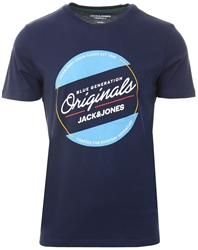 Jack & Jones Blue / Navy Blazer Logo T-Shirt